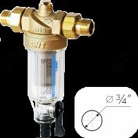 Фильтры для холодной воды с прямой промывкой Protector mini С/R 3/4