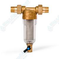 Фильтр магистральный самопромывной для холодной воды Гейзер Бастион 111