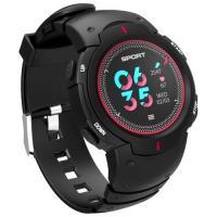 Умные часы NO.1 F13 (черный/красный)