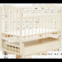 Детская кроватка Bambini 02 (слоновая кость)