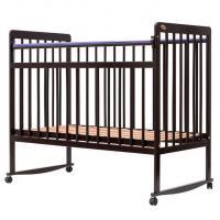 Детская кроватка Bambini Euro Style М 01.10.03 (темный орех)