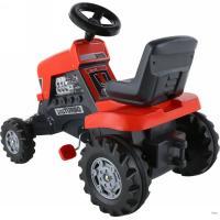 Педальная машинка Полесье Каталка-трактор с педалями Turbo [52674]