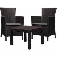 Набор мебели (два кресла, столик)Rosario balcony brn +cus wm tp 008 std коричневый