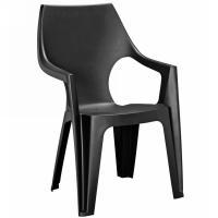 Пластиковый стул Dante Low Back графит