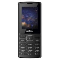 Мобильный телефон Nobby 210 (черный/серый)