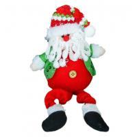 Мягкая игрушка Зимнее волшебство Дед Мороз в пиджаке 37 см (красный)