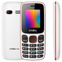 Мобильный телефон Strike P10 (белый/красный)