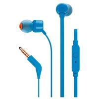 Наушники с микрофоном JBL T110 (синий)