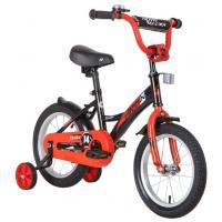 Детский велосипед Novatrack Strike 14 2020 143STRIKE.WTR20 (белый/красный)