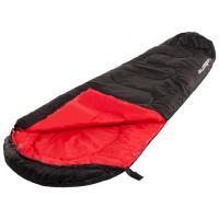 Спальный мешок Acamper Кокон 300г/м2 (черный/красный)