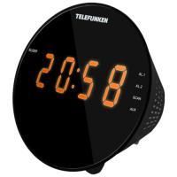 Радиочасы TELEFUNKEN TF-1572 (чёрный)
