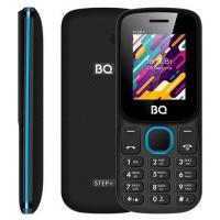 Мобильный телефон BQ-Mobile BQ-1848 Step+ (черный/голубой)