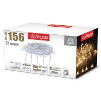 Световой дождь Vegas Занавес 55077 156 LED (теплый белый)