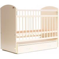 Классическая детская кроватка Bambini Элеганс М 01.10.07 (слоновая кость)