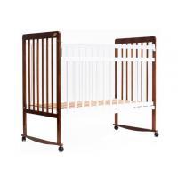 Классическая детская кроватка Bambini Euro Style М 01.10.03 (орех светлый/белый)