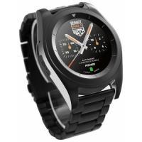 Умные часы NO.1 G6 Black Steel Band