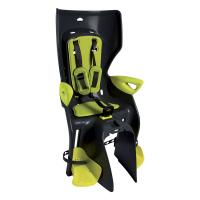 Детское велокресло Bellelli Summer Standard B-Fix (черный/салатовый)