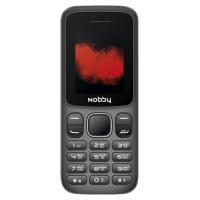 Мобильный телефон Nobby 100 (серый/черный)