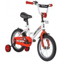 Детский велосипед Novatrack Strike 14 2020 143STRIKE.BKR20 (черный/красный)