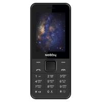 Мобильный телефон Nobby 200 (черный)