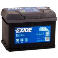 Автомобильный аккумулятор Exide Excell EB602 (60 А·ч)