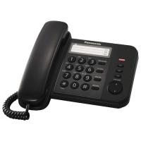 Проводной телефон Panasonic KX-TS2352RUB (черный)