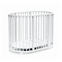 Кроватка-трансформер Bambini М.01.10.14 (белый)