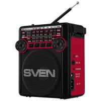 Радиоприемник SVEN SRP-355 (черный/красный)