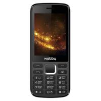 Мобильный телефон Nobby 300 (черный/серый)