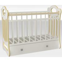 Детская кроватка VDK Belinda (белый)