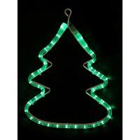 2D-фигура Neon-night Елочка (33x25 см, зеленый) [501-216]