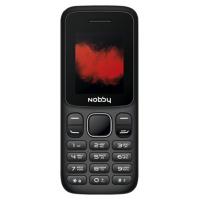 Мобильный телефон Nobby 100 (черный/синий)