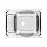 Кухонная мойка Ukinox CLM560.435 -5К 1R