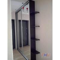 Встроенный в нишу зеркальный шкаф-купе ТМШК-0027
