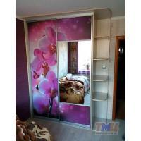 Шкаф в спальню с фотопечатью ТМШК-0013