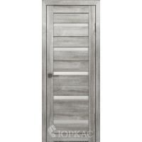 Дверь Лайт 7  муссон белый сатинат