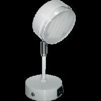 Ecola GX53 FT4173 cветильник поворотный на среднем кроншт. белый 200x80