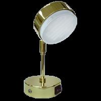 Ecola GX53 FT4173 cветильник поворотный на среднем кроншт. золото 210x80