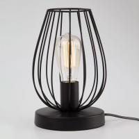 Настольная лампа в стиле лофт Eurosvet 01013/1 черный