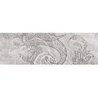 Декор Нефрит-керамика Ганг серый 07-00-5-17-00-06-2108, 600x200