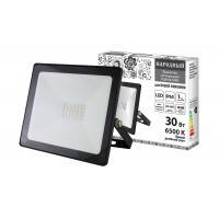 Прожектор светодиодный СДО-04-030Н 30 Вт, 6500 К, IP65, черный, Народный TDM /24