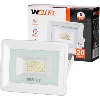 Прожектор cветодиодный WOLTA WFL-20W/06W 5500K 20 Вт SMD IP65 1700 Лм белый 1/20