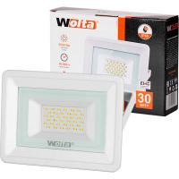 Прожектор cветодиодный WOLTA WFL-30W/06W белый 5500K 30 Вт SMD IP65 2550 Лм 1/20