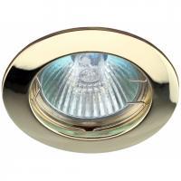 KL1 GD Светильник ЭРА литой простой MR16,12V, 50W золото (5/100/2100)