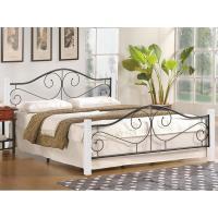 Кровать Halmar Violetta 160x200 (белый/черный)